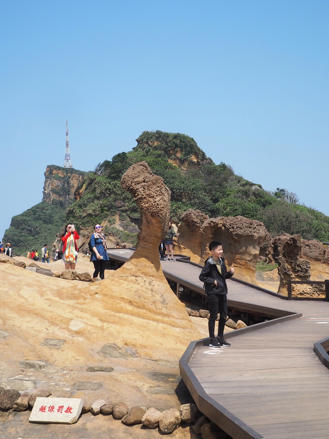 Taiwan Yehliu Geopark 野柳地质公园 Queen's Head Rock | joanne-khoo.com