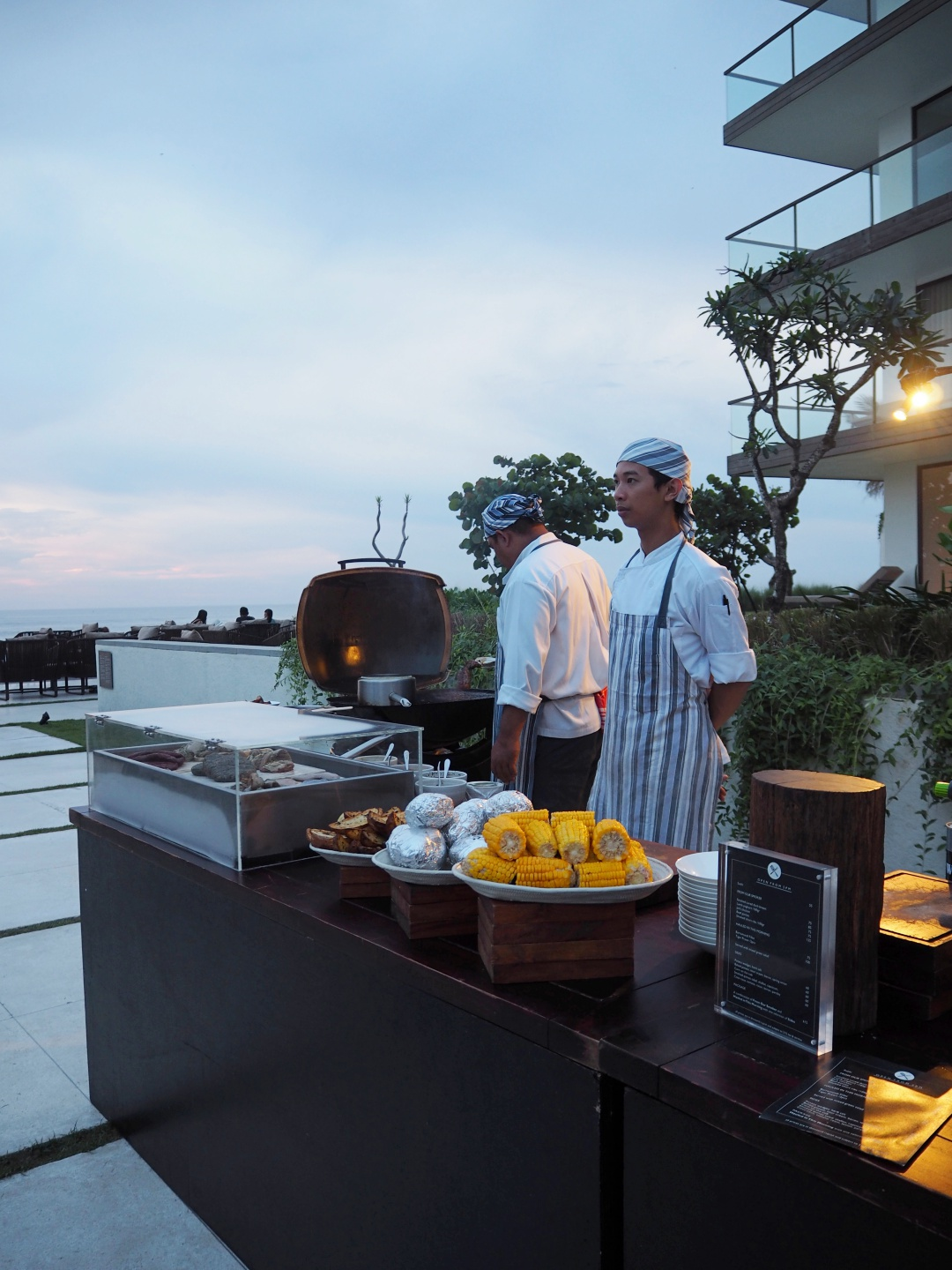 Alila Seminyak - Barbecue by The Beach | joanne-khoo.com